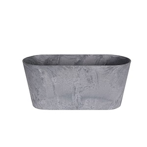 Artstone Claire Balcony Trough Grey