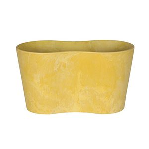 Artstone Claire Duo Flower Pot Lemon