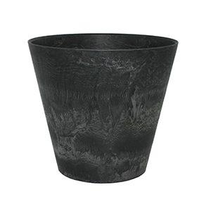 Artstone Claire Plant Pot Black