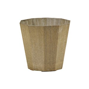 Artlumin Deca flower pot brass