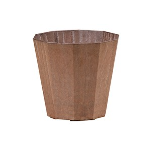 Artlumin Deca flower pot bronze