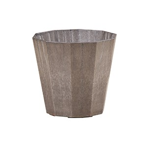 Artlumin Deca flower pot charcoal