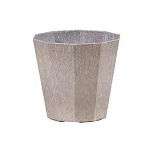 Artlumin Deca flower pot zinc