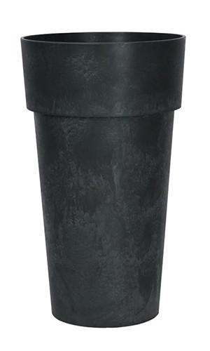 Vase-luna-black