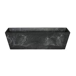Artstone Ella Balcony Trough Black