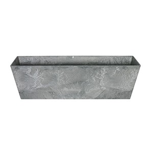 Artstone Ella balcony trough grey