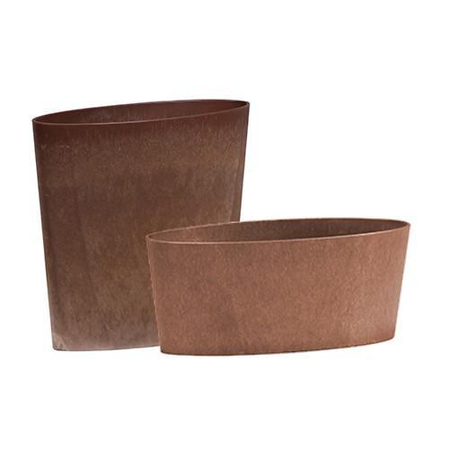 oval - bronze