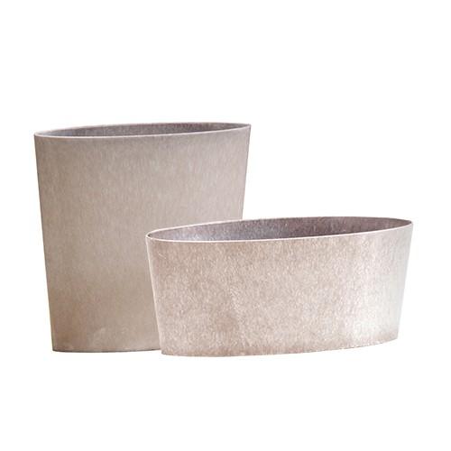 oval - zinc