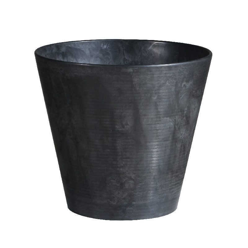 Artstone Cali Plant Pot Black