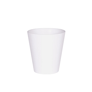 Artstone Claire Grower Plant Pot White