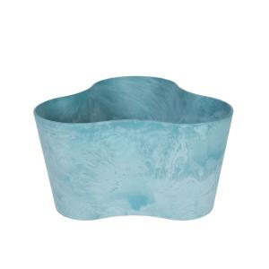 Artstone Claire Trio Flower Pot Aqua